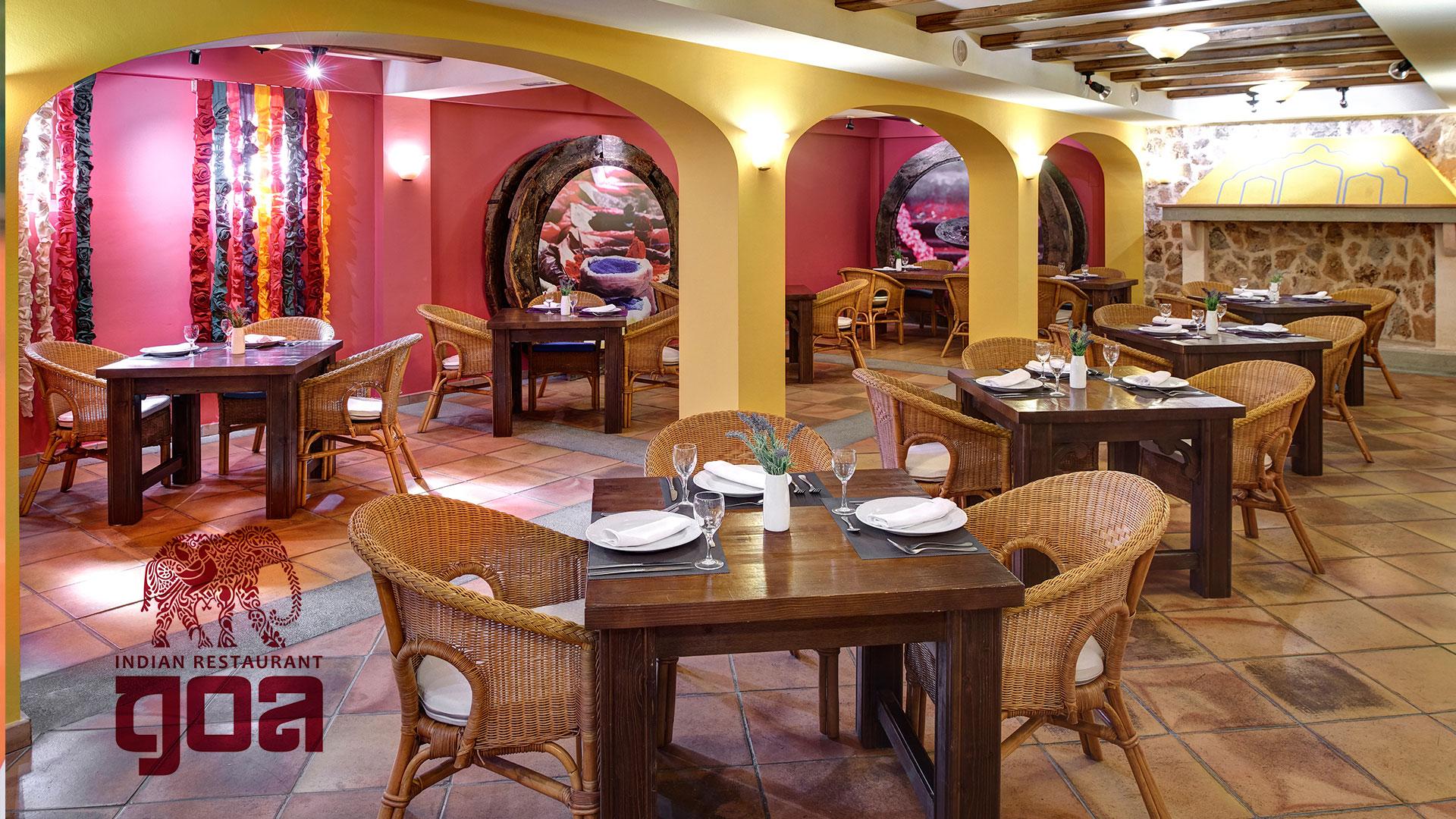 Restaurante temático indio GOA